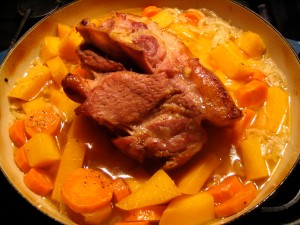 Bacon Pot-Roast