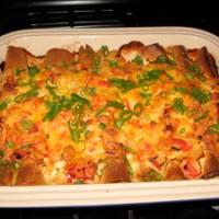 Creamy Chicken Enchiladas (Enchiladas Suizas)