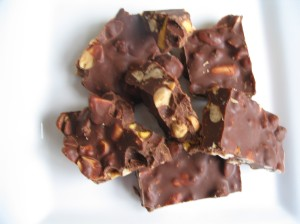 Sweet & Salty Crunchy Nut Bars