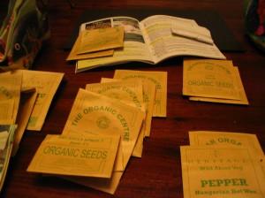 Ordering seeds