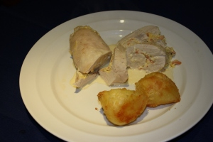 Chicken Breast stuffed with Smoked Trout & Cream Cheese