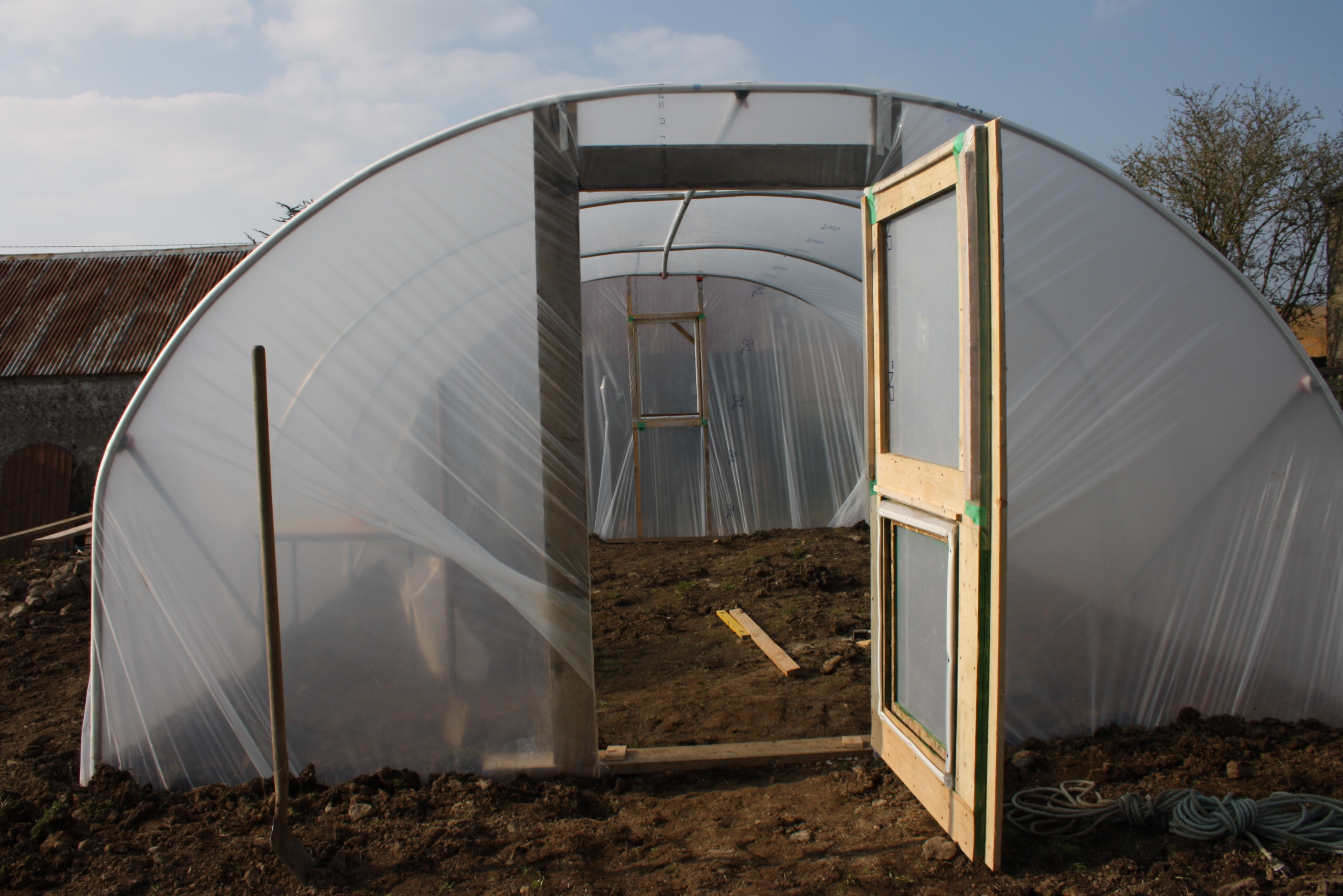 Free Home Plans Pvc Greenhouse Plans