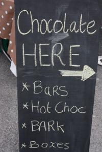 Blackboard signage
