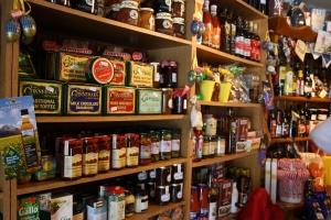 Shelves and shelves of lovely goodies!