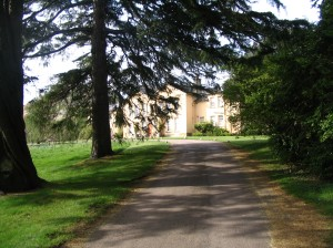 Driveway at Rowallane