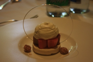 Poached Rhubarb