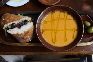 Sweet Potato & Chorizo Soup