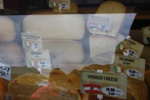 so many cheeses to choose from!