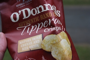 a bag of O'Donnell's Crisps