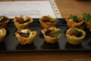 Canapes from Hey Pesto!