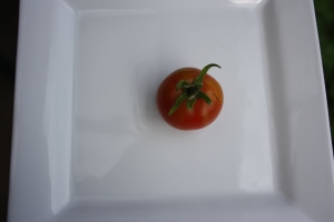 Our first tomato
