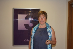 me standing at TV3 logo