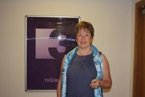 me standing at TV3 logo