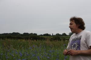 Sandro Cafollo in meadow