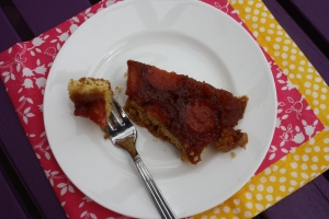 Slice of Tuscan Plum Tart