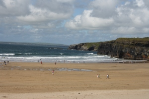 The beach at Ballybunion