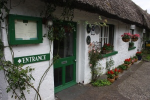 Front view of White Sage Restaurant, Adare