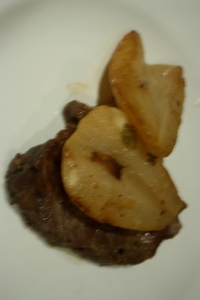 Pork chops with pears