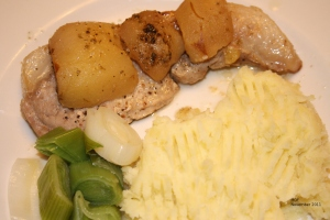 Irish Pork and Pears