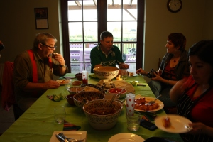 The end of the Mexican feast
