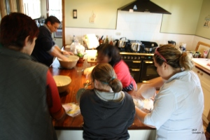 Making our own tortillas