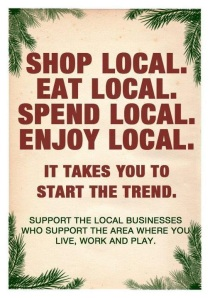 Shop Local poster