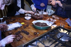 making truffles