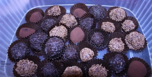 Lots of truffles to take home