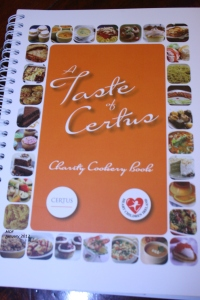 A Taste of Certus, Recipe Book