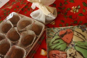 A selection of home-made sweets