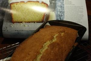 Cake in tin