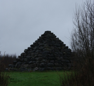 The Pyramid at Lough Boora