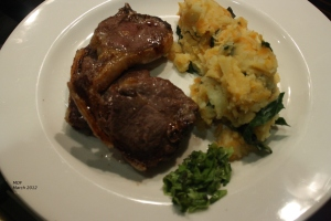 Irish Lamb Chops with Ireland Mash