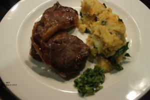 Irish Lamb Chops with Ireland Mash