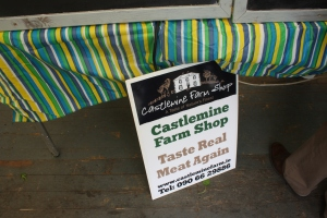 Castlemine Farm Shop Sign