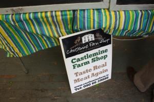 Castlemine Farm Shop Sign