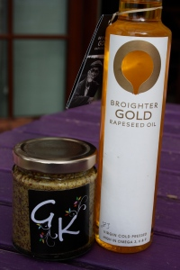 Garden Kitchen Mustard & Broighter Gold Rapeseed Oil