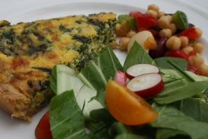 Spinach & Ricotta Quiche