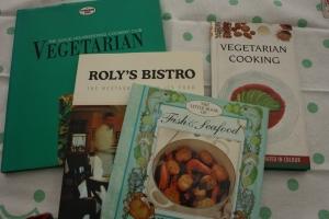 Old recipe books