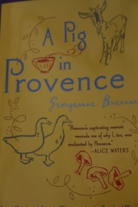 A Pig in Provence - book