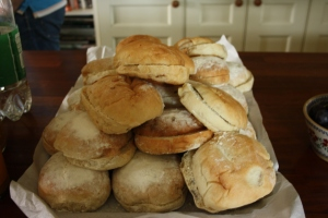 Delicious vlaas from Arun Bakery