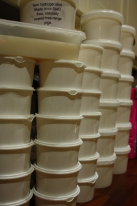 Columns of lard :)