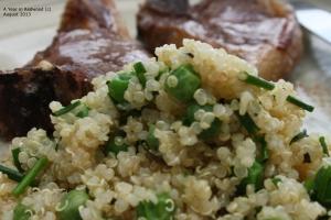 minty, pea quinoa