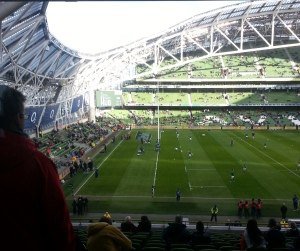I will always refer to it as Lansdowne Road :)