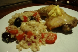 Quinoa Salad with Spicy Chicken