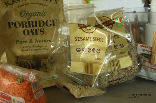 Seed mix for ducklings