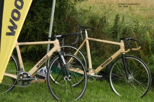 Woodelo wooden bike frames