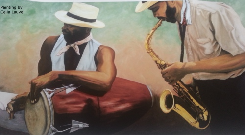 The Jazz Players by Celia Lauve