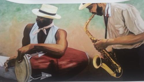 Painting by Celia Lauve