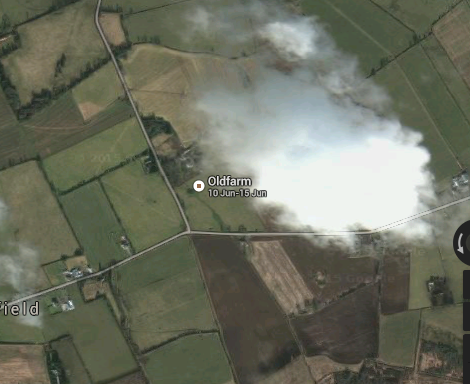 Screen Shot taken from Google Earth view
